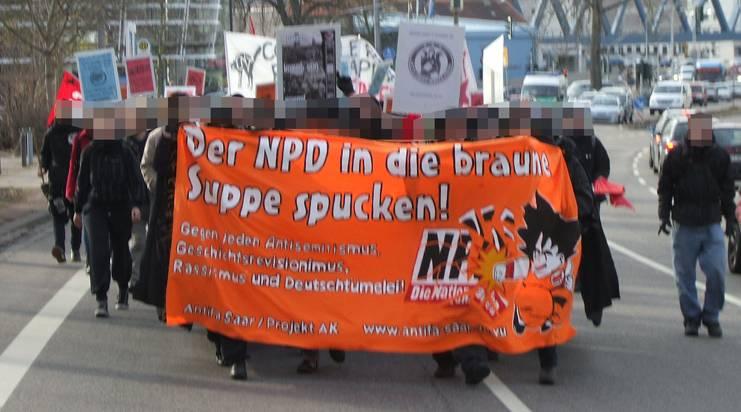 Den NPD - Bundesparteitag am 18.01.2014 in Schafbrücke verhindern!