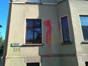 """Das Haus der """"Germania"""" in vollem Wichs"""