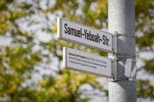 Umbenennung der Saarlouiser Straße in Samuel-Yeboah-Straße