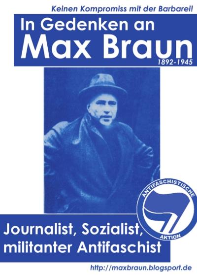 In Gedenken an Max Braun